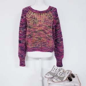 Anthropologie Moth Multicolored Sweater